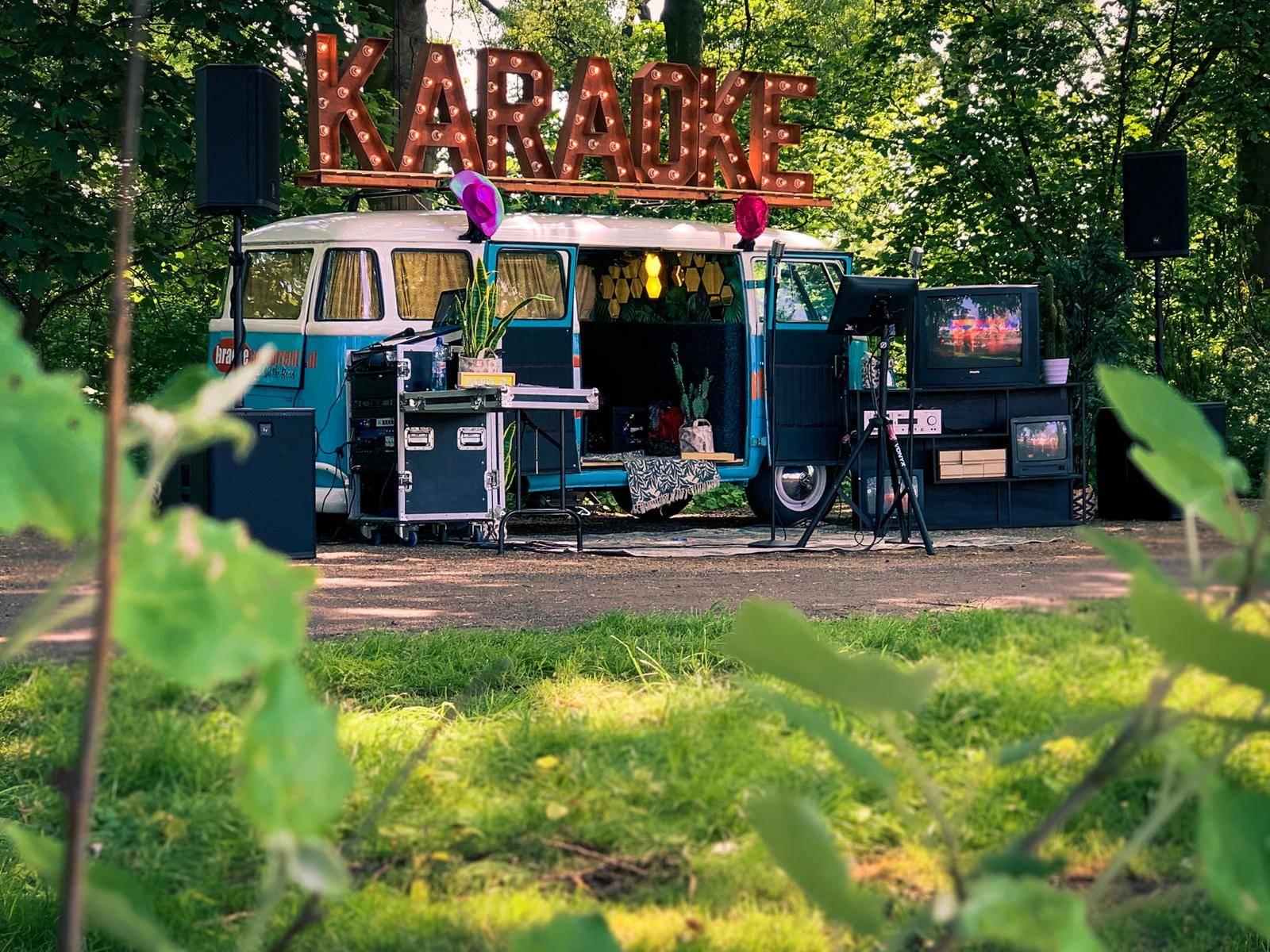 Volkswagen Mobiele karaoke bus Festival