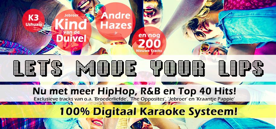 digitaal karaoke systeem met top 40 liedjes