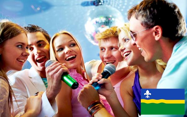 Karaoke set huren Flevoland