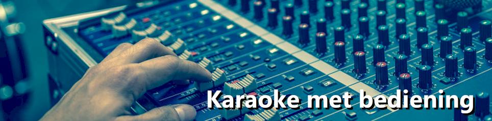 karaoke met bediening
