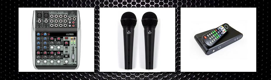 karaoke set silent disco
