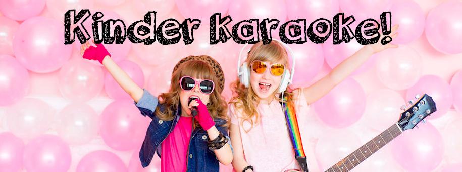 Kinder karaoke set huren nu als aktie