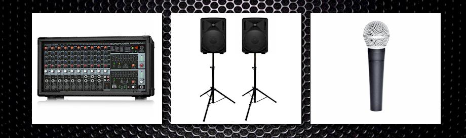 geluidsinstallatie one