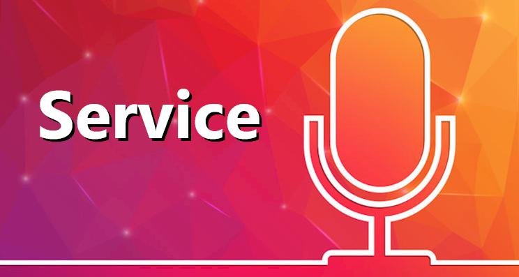 service van karaokeconcurrent