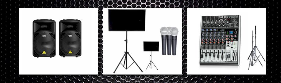 KM-1 Professionele karaoke set