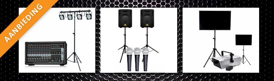 STUNTPAKKET karaoke set