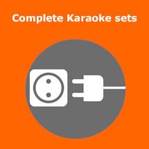 complete karaoke set huren