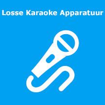 losse karaoke sets huren