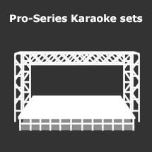 Professionele karaoke set huren